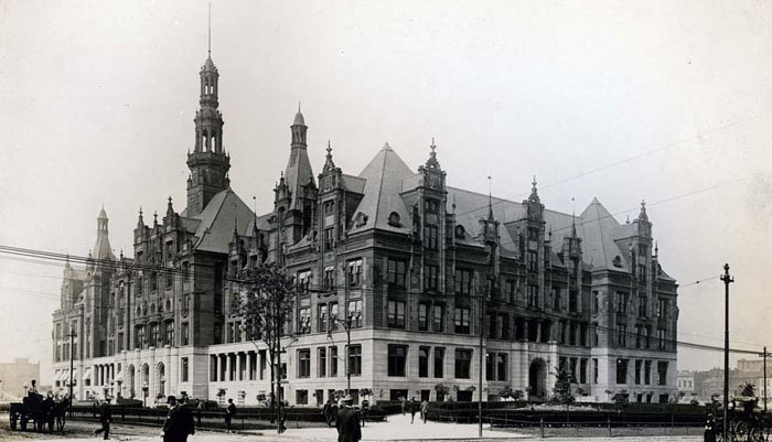 City Hall just after 1900