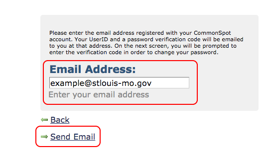 Email Password Verification