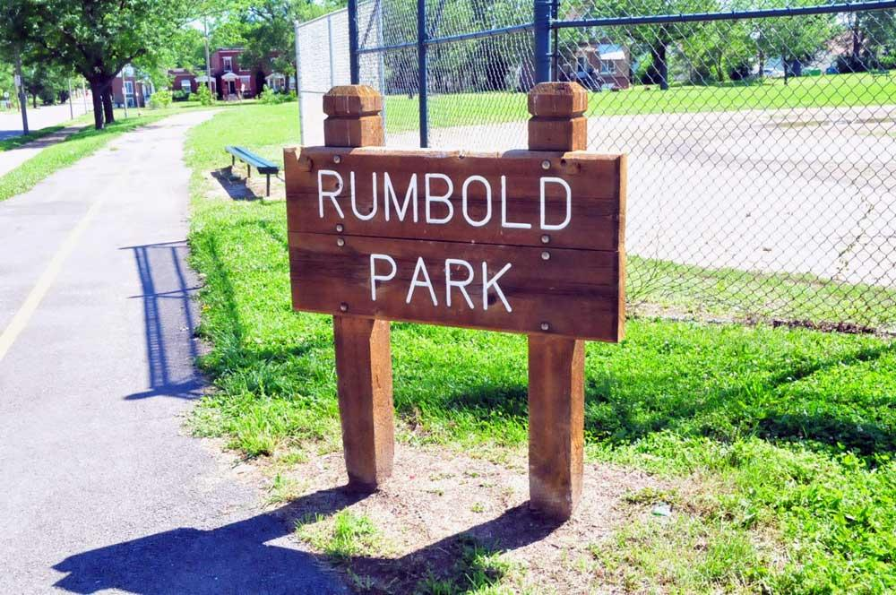Rumbold Park sign